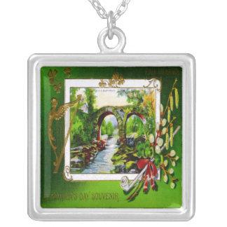 St. Patrick's Day Souvenir Necklace