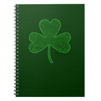 St. Patrick's Day Spiral Notebook