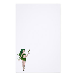 St. Patrick's Day Sprite 3 - Green Fairy Stationery