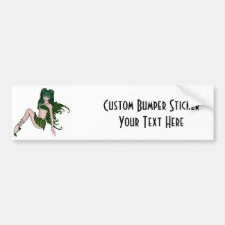 St. Patrick's Day Sprite 6 - Green Fairy Bumper Sticker