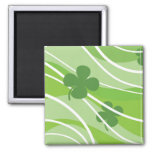 St. Patrick's Day Swirls Fridge Magnet