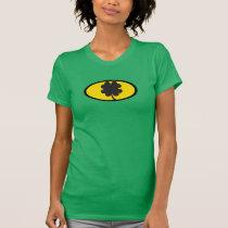 St. Patrick's Day T Shirt for Women Bat Theme