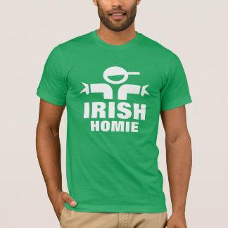 St Patrick's day t shirt saying Irish homie
