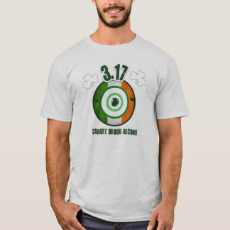 St. Patrick's Day Target Blood Alcohol Tee