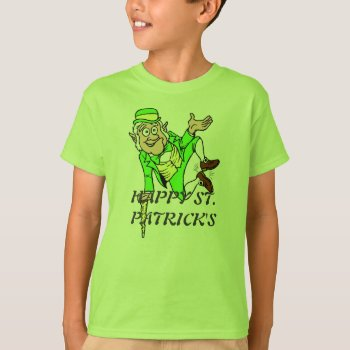 St. Patrick's Day Tee Shirt Leprechan by creativeconceptss at Zazzle