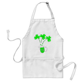 St. Patrick's Day The secret of brewing Apron
