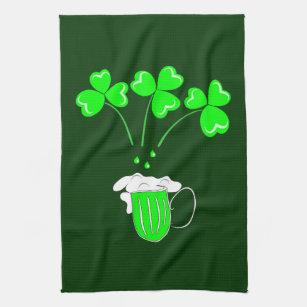 St Patricks Day Kitchen Hand Towels Zazzle