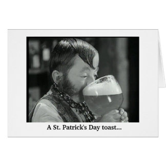 St. Patrick's Day Toast Card