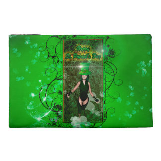 St. Patrick's day Travel Accessory Bag
