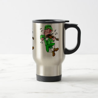 St Patrick's Day Travel Mug