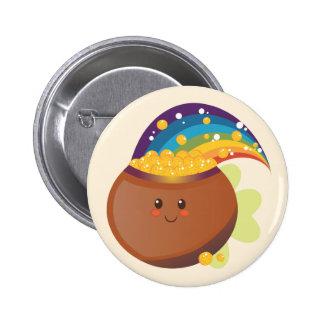 St. Patrick's Day Treasure Button