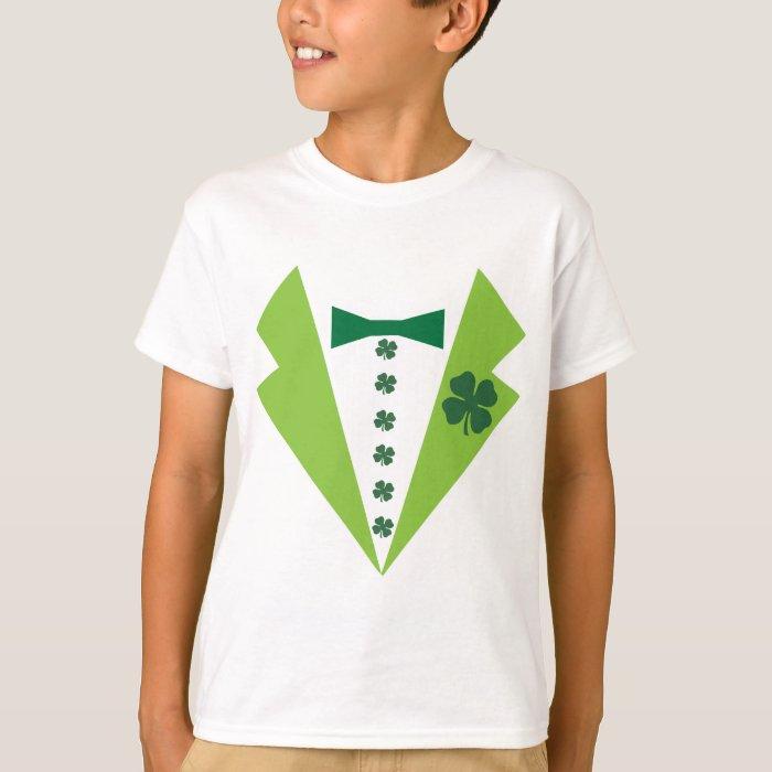 St. Patrick's Day Tuxedo Shirt