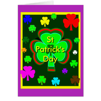 St Patrick's Day UCreate Template Purple The MUSEU