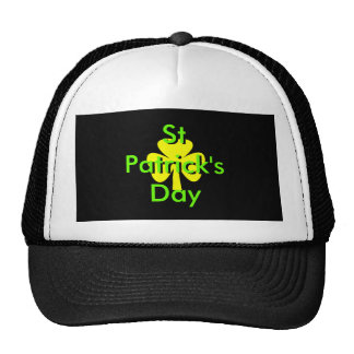 St Patrick's Day UCreate Templates Mesh Hat
