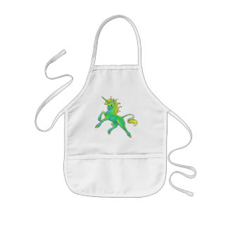 St. Patrick's Day Unicorn Apron