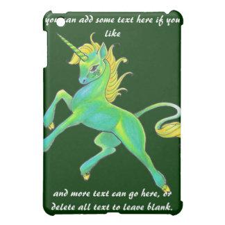 St. Patrick's Day Unicorn iPad Case