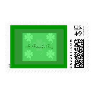 St. Patrick's Day United States Postage Stamp