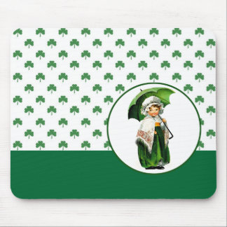St. Patrick's Day Vintage Style Gift  Mousepad