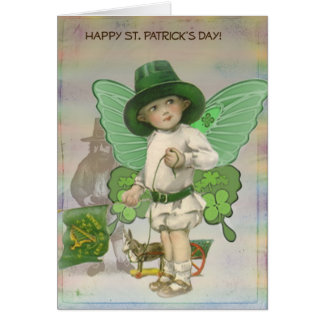 St. Patrick's Day Wee Little Fairy Card