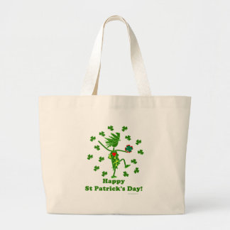 St Patrick's Day Whimsy Tote Bags