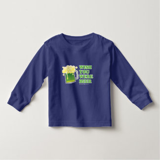 St Patrick's Day Wish you were Beer Tankered Toddler T-shirt