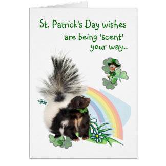 St Patricks Day wishes are being 'scent' your way! Cards