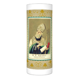 "St. Patrick's Day Wrapped LED Candle, 3"" x 8"" Flameless Candle"