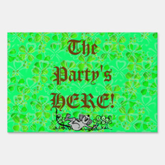 St. Patrick's Day Sign