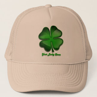 St. Patrick's Day Zing, lucky Trucker Hat