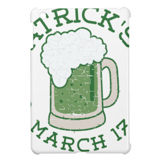 st patricks distressed green beer cover for the iPad mini