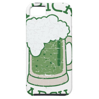 st patricks distressed green beer iPhone SE/5/5s case