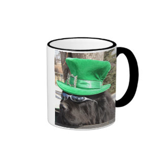 St Patrick's Dog Ringer Mug