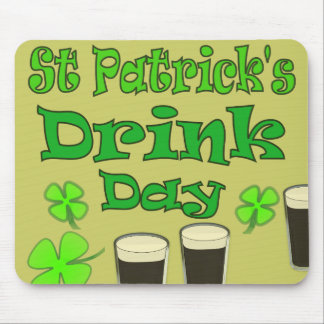 St Patricks Drink Day - I'm Irish Mouse Pad