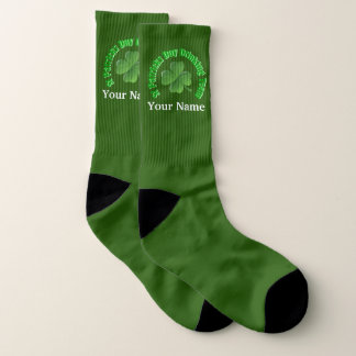St Patricks drinking team Socks