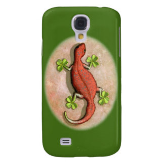 St. Patrick's Gecko Galaxy S4 Cases