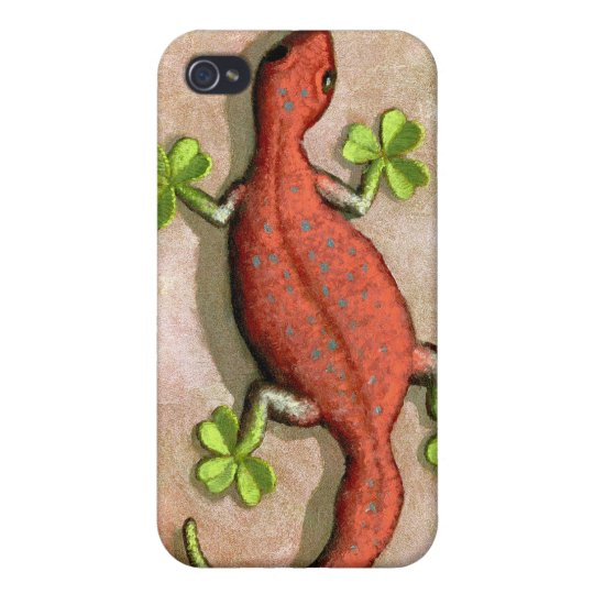 St. Patrick's Gecko iPhone 4 Cover