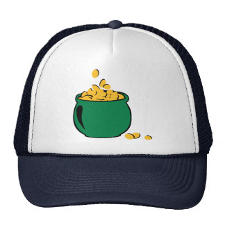 St. Patricks gold pot Trucker Hat