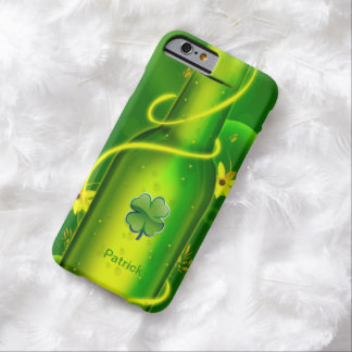 St. Patrick's Green Beer Bottle Barely There iPhone 6 Case