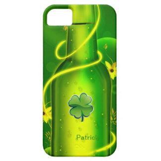 St. Patrick's Green Beer Bottle iPhone 5 Case