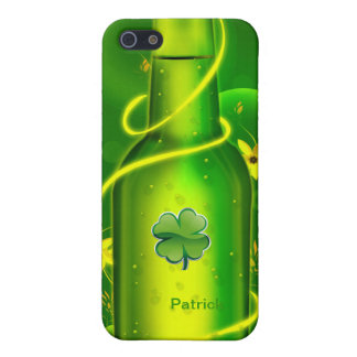 St. Patrick's Green Beer Bottle iPhone 5 Case, iPhone SE/5/5s Case
