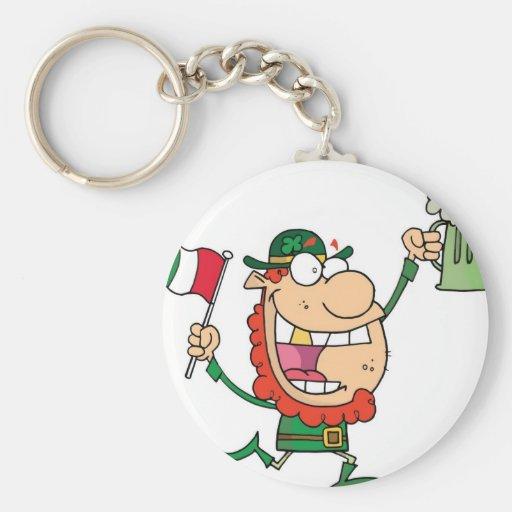 St. Patrick's Guy Keychain