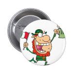 St. Patrick's Guy Pinback Buttons