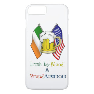 ST PATRICKS IRISH  AMERICAN FLAG + BEER MUG COVER
