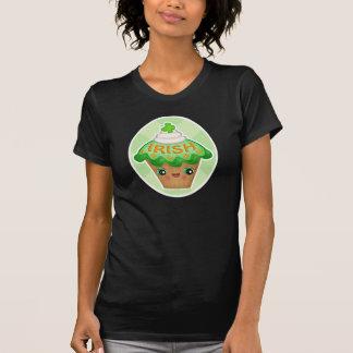 St. Patrick's Irish Kawaii Cupcake T-Shirt