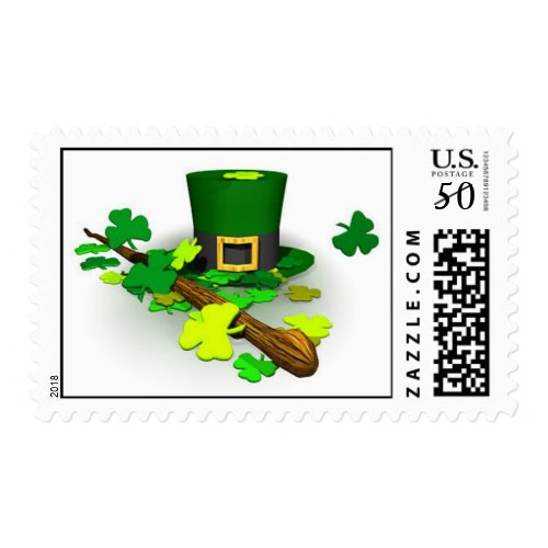 St. Patrick's Irish postage stamps