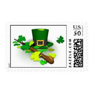 St. Patrick's Irish postage stamps
