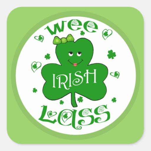 St. Patrick's Irish Shamrock Stickers