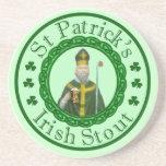 St. Patrick's Irish Stout Beverage Coaster
