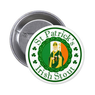 St. Patrick's Irish Stout Buttons