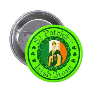 St. Patrick's Irish Stout Pins
